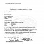 Certyfikat LotusGrill